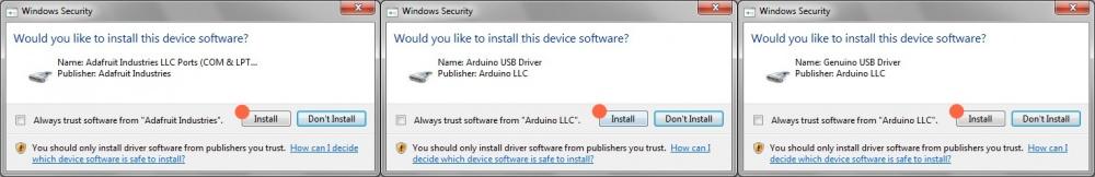 автоматично встановити драйвери arduino ide