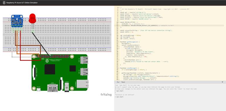 программа симулятор raspberry pi от microsoft