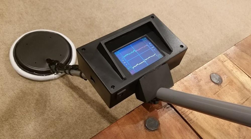 детектор металла на ардуино металлоискатель