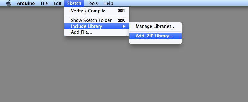ImportLibraryFromZIPFile